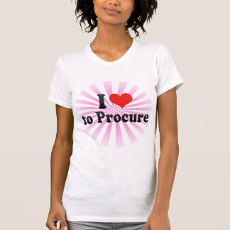 I Love to Procure T-Shirt