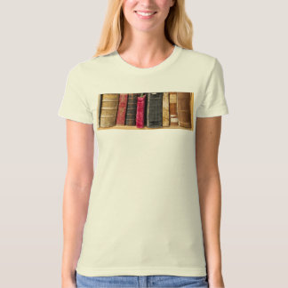 I Love to Read, Antique Vintage Books T-Shirt