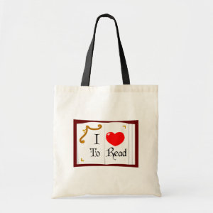 I Love To Read bag