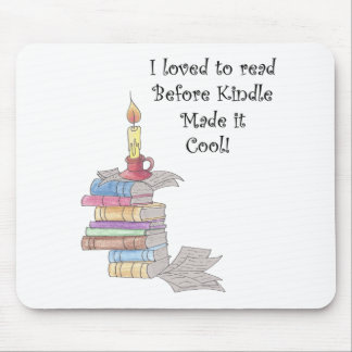 """""""I love to read"""" mouse pad,  books, reading Mouse Pad"""