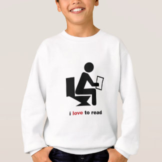 I Love To Read Sweatshirt