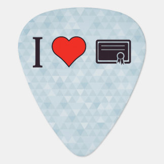 I Love To Receive Validation For My Efforts Guitar Pick