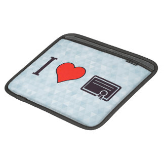I Love To Receive Validation For My Efforts iPad Sleeve