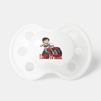 I Love To Ride 2 Baby Pacifiers