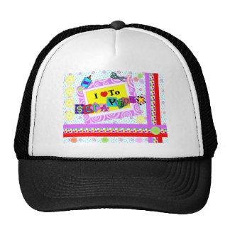 I Love to Scrapbook Trucker Hat