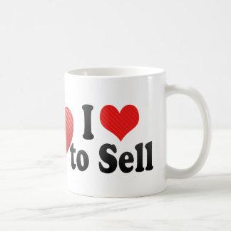 I Love to Sell Coffee Mug