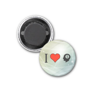 I Love To Sell My Ideas 1 Inch Round Magnet