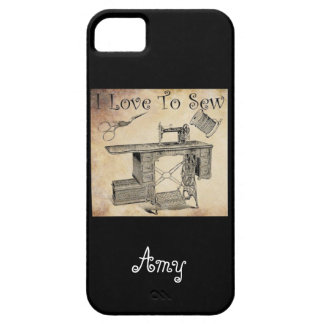 I Love to Sew iPhone SE/5/5s Case