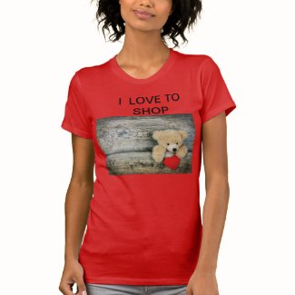 I Love to Shop Women's T-shirt