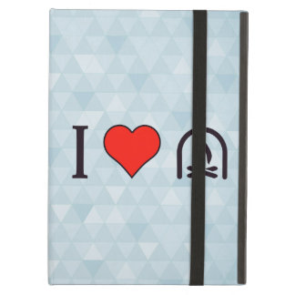 I Love To Sit By The Fireplace iPad Air Case