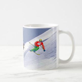 I Love to Ski Coffee Cup