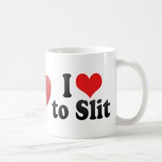 I Love to Slit Mug