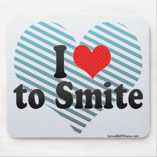I Love to Smite Mouse Pad