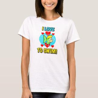 I Love To Swim Women's Shirt