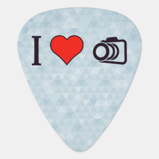 I Love To Take Pictures Guitar Pick