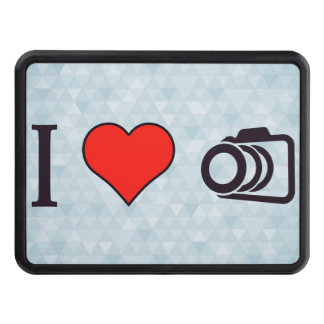 I Love To Take Pictures Tow Hitch Cover