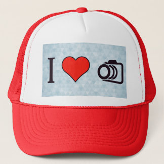 I Love To Take Pictures Trucker Hat