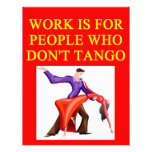 i love to tango custom letterhead