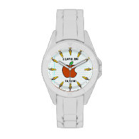 I Love To Teach! (Personalized) Wrist Watches