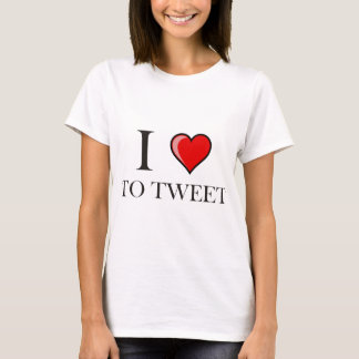 I love to Tweet T-Shirt