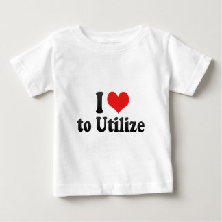 I Love to Utilize T-shirt