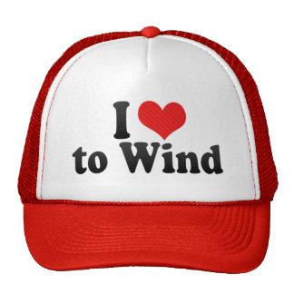 I Love to Wind Mesh Hats