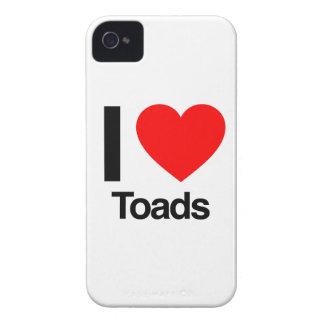 i love toads Case-Mate iPhone 4 case