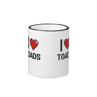 I love Toads Digital Design Ringer Coffee Mug