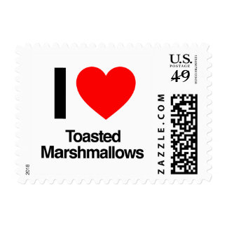 i love toasted marshmallows stamp