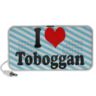 I love Toboggan Mini Speakers