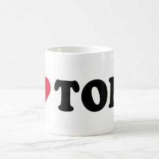I LOVE TOBY COFFEE MUG