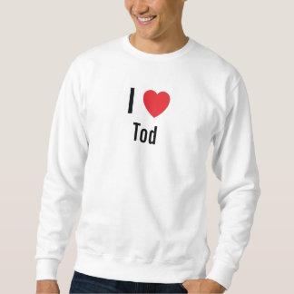I love Tod Pull Over Sweatshirt