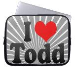 I love Todd Computer Sleeves