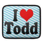 I love Todd MacBook Air Sleeve