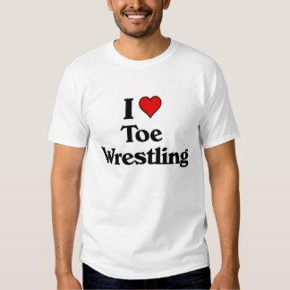 I love Toe Wrestling Shirt