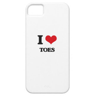 I love Toes iPhone 5 Cases