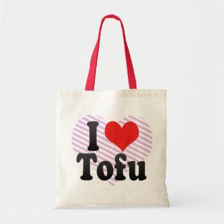 I Love Tofu Canvas Bag