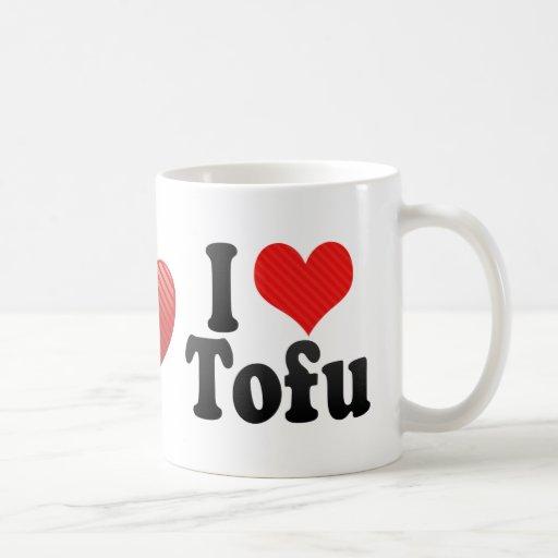 I Love Tofu Classic White Coffee Mug