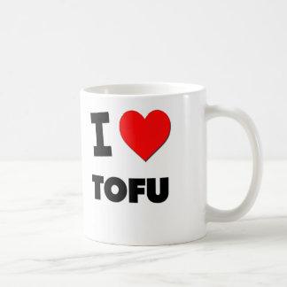 I Love Tofu ( Food ) Coffee Mug