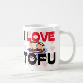 I Love Tofu Coffee Mugs