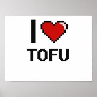 I Love Tofu Poster