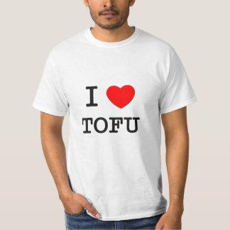 I Love Tofu Tee Shirt