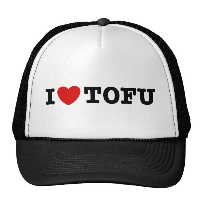 I Love Tofu Trucker Hat