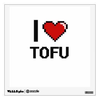 I Love Tofu Wall Decals