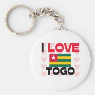 I Love Togo Key Chains