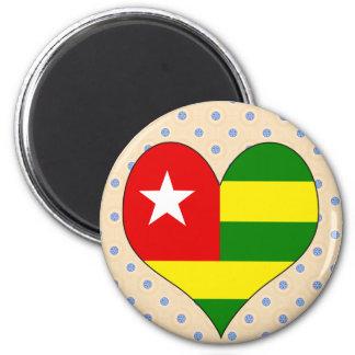 I Love Togo Magnets
