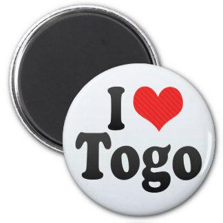 I Love Togo Refrigerator Magnets