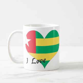 I love Togo Classic White Coffee Mug