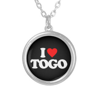 I LOVE TOGO PERSONALIZED NECKLACE