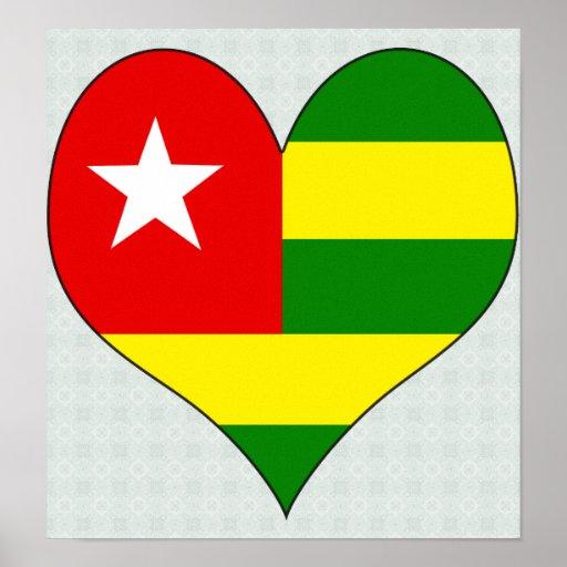 I Love Togo Poster